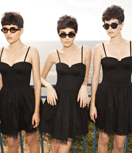 קסטרו - קולקציית שמלות וחליפות. צילום: דודי חסון.