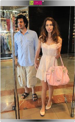 אנה באומן ובעלה. צילום: יוני טובלי.