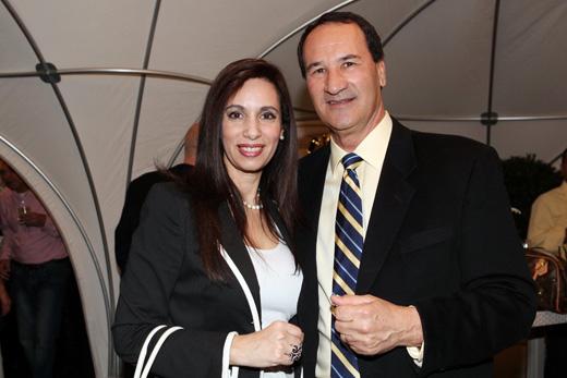 טל ברודי ואשתו - אינפיניטי של סלבס. צילום: איציק בירן.