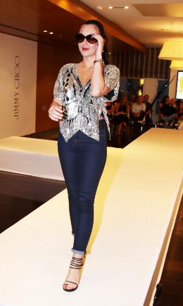 דוגמנית, זמרת - מאיה בוסקילה. צילום: אלירן אביטל.