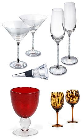 איך נחגוג את סילבסטר 2010 בבית? - כוסות יין ושמפניה