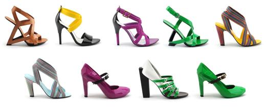 UNITED NUDE - קולקציית נעליים קיץ 2010