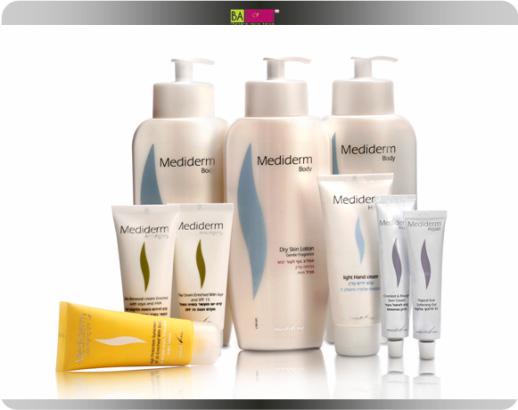 סדרת מוצרים דרמו קוסמטיקה המשלבת סדרת מוצרי טיפוח ויופי המבוססת על