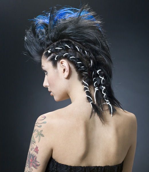 אריק מאיוסט - מראה שיער לפורים. צילום: רועי פייברג.