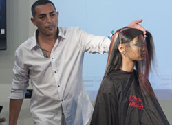 מעצב השיער גדי עמר מציג טכניקה חדשה לwella