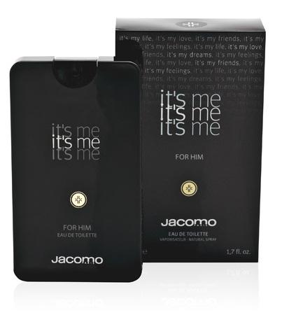 בושם לגבר בעיצוב אייפון מבית jacomo