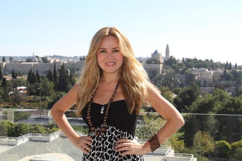 קרולינה לאו במלון ענבל בירושלים