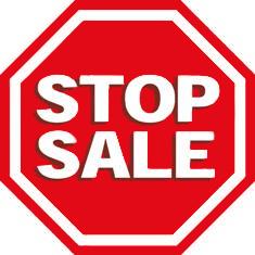 stop sale