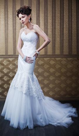 שמלת כלה בעיצוב אישי - סלון כלות ליקה בתל אביב