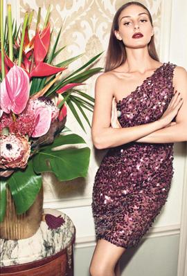 קולקציית שמלות ערב סילבסטר 2011 - MANGO