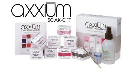 אקסיום axxium ג'ל OPI - כשצבע פוגש ג'ל