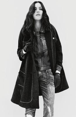 ליב טיילור למותג האופנה G-STAR