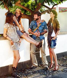 מבצעי אופנה יוני 2010 - SPRINGFIELD