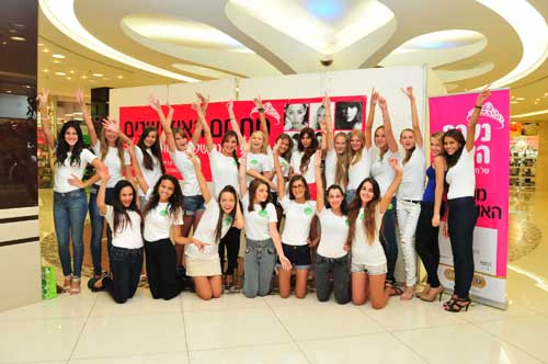 21 המועמדות הסופיות לתחרות נערת השנה של הגרנד קניון לשנת 2012