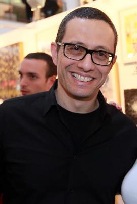 ארז טל - תערוכת אומנות ישראלית למען המאבק באיידס. צילום: סיון פרג'.