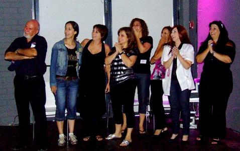 """צוות נייל סטודיו ומנכ""""ל החברה, בראיין ליידן. צילום: פורטל היופי הישראלי-בראש."""
