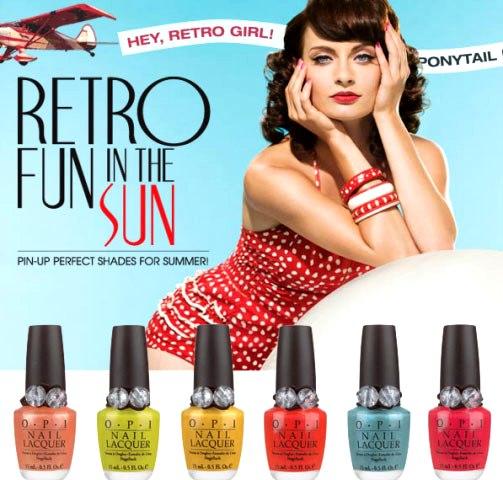 Retro Fun in the Sun קולקציית לק קיץ 2008 - OPI