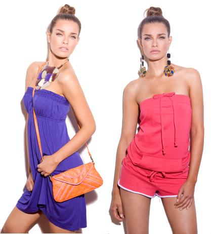 אינטימה מציגה קולקציית בגדי חוף. צילום: גיא כושי ויריב פיין.