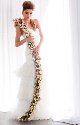 זרי כלה - עונת החתונות 2011