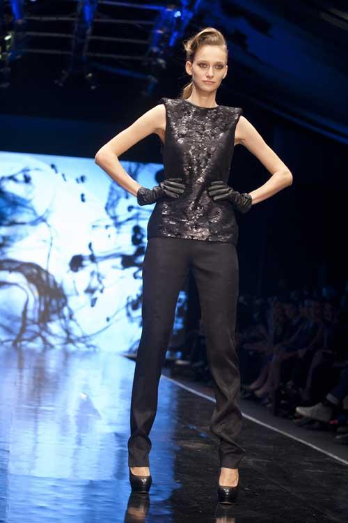 קולקצית חורף של יניב פרסי בשבוע האופנה בתל אביב