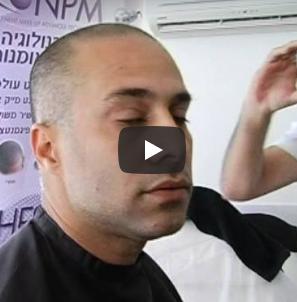 משה אלול ו- NPM – הדמיית שיער בהוט