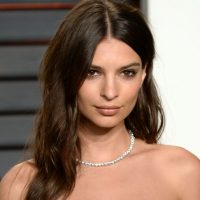 Emily Ratajkowski Oscars Vanity Fair Party 2016 Credit Anthony Harvey @ Getty Images Exp February 28 2017