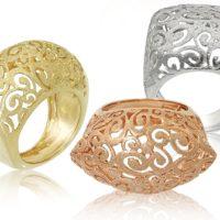 תכשיטים - טבעות תחרה