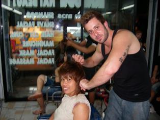 עיצוב שיער בתאילנד