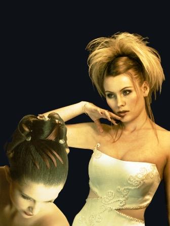 אופנת השיער לכלות קיץ 2007