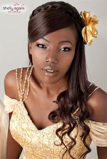 להבהיר את הנושא - איפור כהות עור