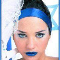 איפור ל60 לעצמאות ישראל