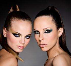 רוית אסף – מראה איפור וולנטיינס 2010