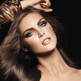 אסתי לאודר - Sensuous Gold מראה איפור סתיו חורף 2009/10