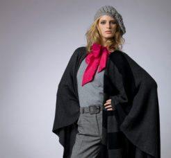 קרייזי ליין משיקה פונצ'ו לחורף חמים ונעים