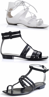 קנת קול - נעלי גלדיאטור קיץ 08.