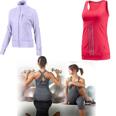 קולקציית ספורט לנשים לחורף 2010 של אדידס