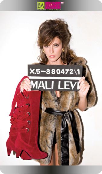 מלי לוי נעצרה על גניבת נעליים!