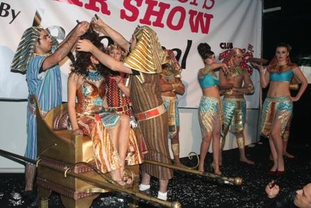 אינדולה במופע השיער ALL WINNERS