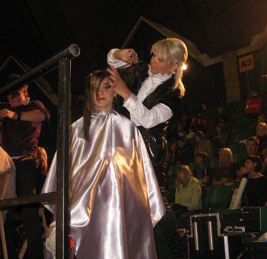 אורלי לוי על הבמה