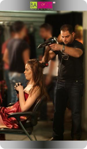 שי נחום - הפקת שיער חורף 2009