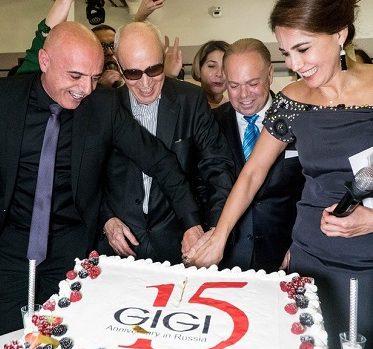 חגיגות 15 שנות פעילות ברוסיה לחברת GIGI