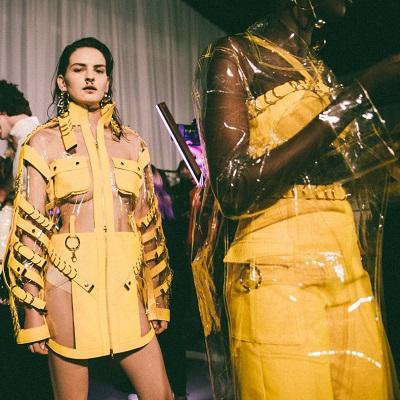 אלון ליבנה תצוגה שבוע האופנה 2018 צילום אבי ולדמן