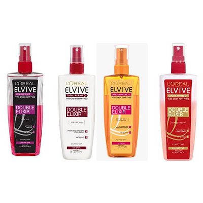 L'OREAL PARIS משיק ELVIVE BI-PHASE