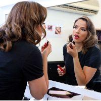 נועה תשבי לצילומי gaya cosmetics