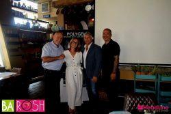 השקת מותג הגלים הבינלאומי GELISH - בתמונה Danny Haile, מר בריאן ליידן ורעייתו חנה עטיה