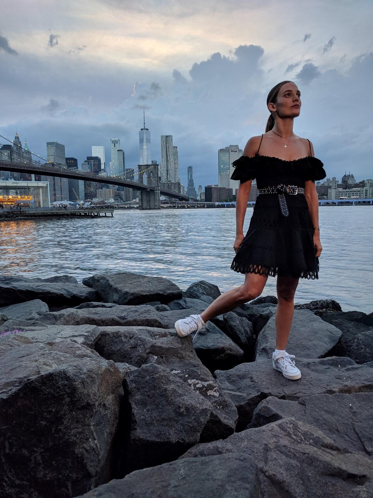דנה פרידר בניו יורק. צילום יחצ