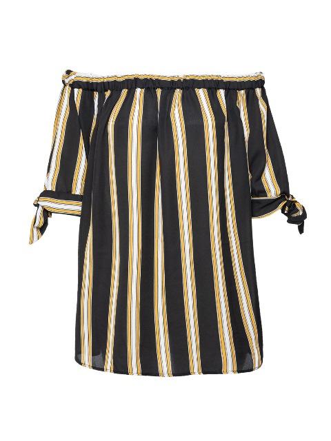 סנדרה רינגלר למתאים לי חולצת פסים כתפיים חשופות צילום גלעד בר שליו