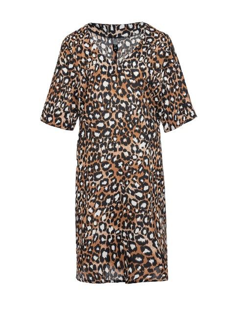 סנדרה רינגלר למתאים לי שמלה מנומרת צילום גלעד בר שליו