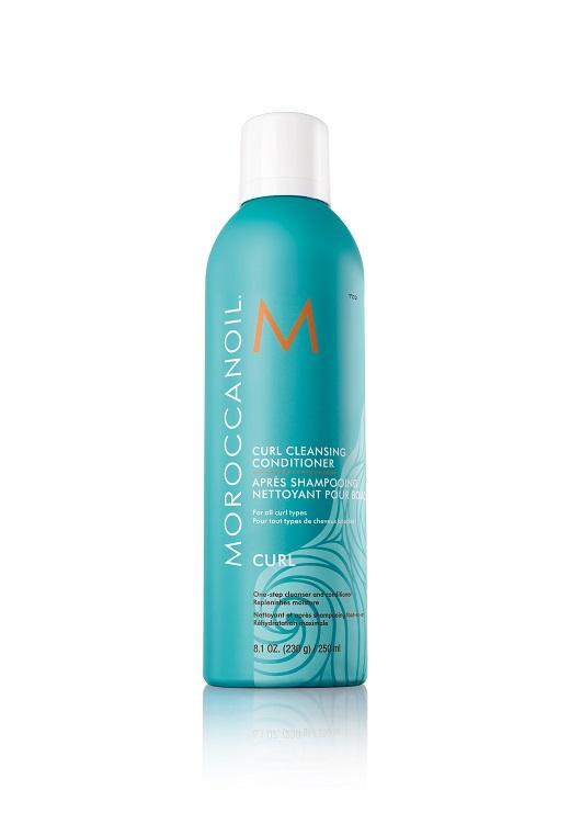 חברת הטיפוח הבינלאומית,MOROCCANOILמציעה שמפו ומרכך במוצר אחד וללא קצף המיועד לשיער מתולתל
