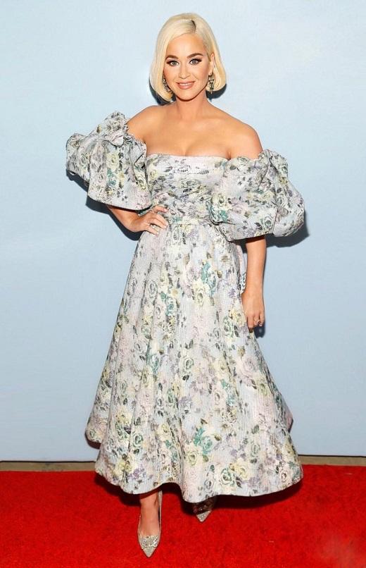 קייטי פרי לובשת שמלה של המעצב אלון ליבנה בוושינגטון אוקטובר 2019 צילום יחצ חול (2)